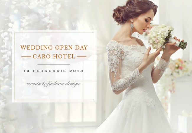 How to plan your wedding in one step: join in Caro Wedding Open Day
