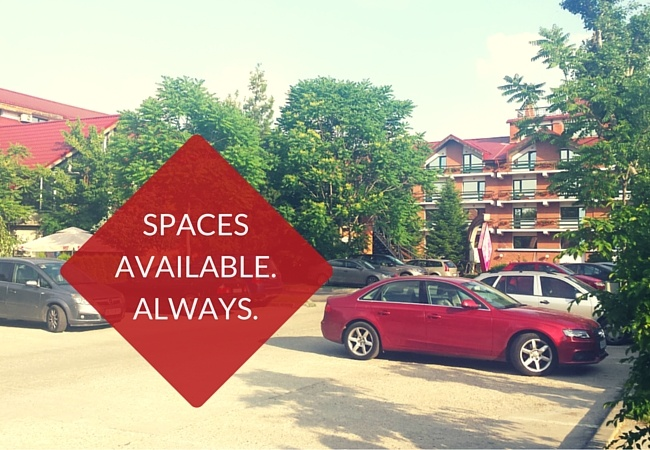 400 Parking Spaces at your Bucharest Hotel